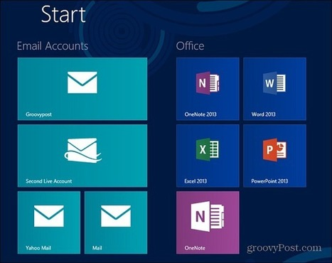 Microsoft Surface Tip: Create Individual Tiles for Multiple Email Accounts - groovyPost | Microsoft | Scoop.it