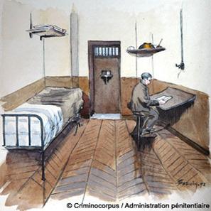 Les « nouvelles cellules » de la prison de la Santé en 1899 | Histoire pénitentiaire et Justice militaire | GenealoNet | Scoop.it