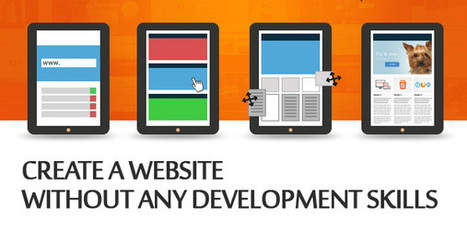 Create a Website Without any Development Skills   Resources   Graphic Design Junction   Designing   Scoop.it