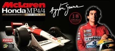 Ayrton Senna McLaren MP4/4 | Marketing | Scoop.it