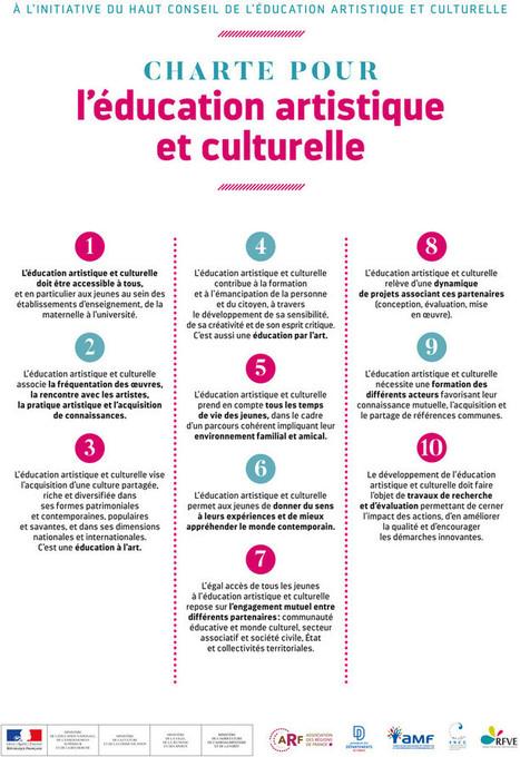 Charte pour l'éducation artistique et culturelle | VEILLE EDUCATION NATIONALE | Scoop.it