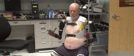 Man Successfully Controls 2 Prosthetic Arms With Just His Thoughts | Bring back UK Design & Technology | Scoop.it