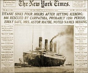 The Sinking of The Titanic - Online English Reading Activity | Titanic Resources | Scoop.it