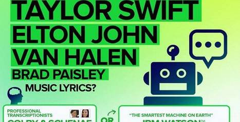 Guess who's better at figuring out song lyrics? Man or machine? - KnowTechie | Linguistics Notes for Translators | Scoop.it