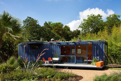 Shipping container guest house | desiretoinspire.net | Entertainment Innovation | Scoop.it