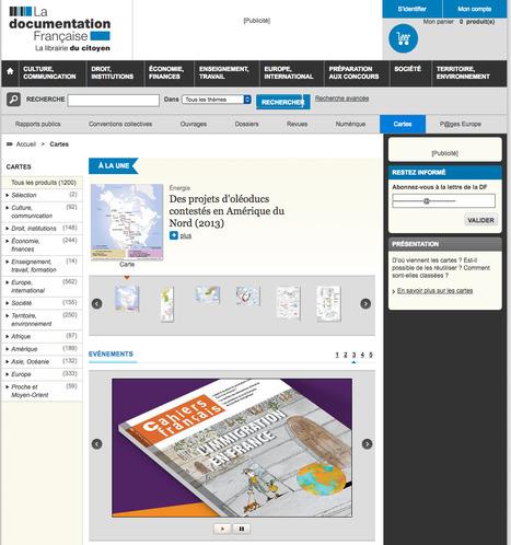 1 200 CARTES en accès LIBRE sur le site de La Documentation française | URBANmedias | Scoop.it