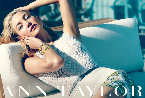 ANN TAYLOR'S CAPSULE COLLECTION WITH KATE HUDSON | Best of the Los Angeles Fashion | Scoop.it
