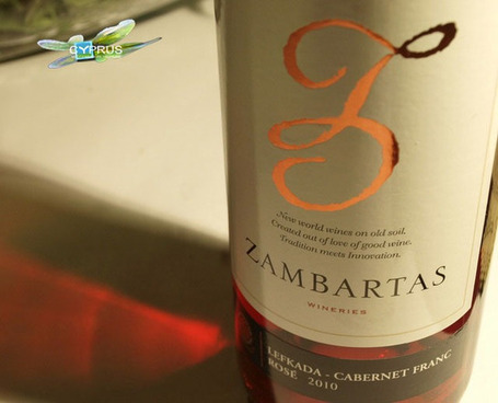 Zambartas Rosé - Cyprus Wine - Naturally Cyprus | Wine Cyprus | Scoop.it