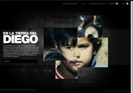 En la tierra del Diego | Clarin.com | L'actualité du webdocumentaire | Scoop.it
