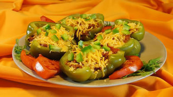 Healthy Recipe: Stuffed Green Peppers | Nutrition, Food Safety and Food Preservation | Scoop.it