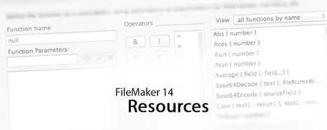 FileMaker 14 Resources | All things Filemaker  Go | Scoop.it
