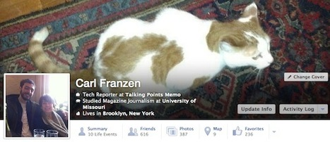 Bientôt une nouvelle timeline Facebook ? | Geeks | Scoop.it