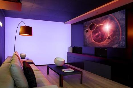 Case Study: BNC Tech's Colourful Media Room in Pretoria | HiddenWires | Lairds Custom Integration | Scoop.it