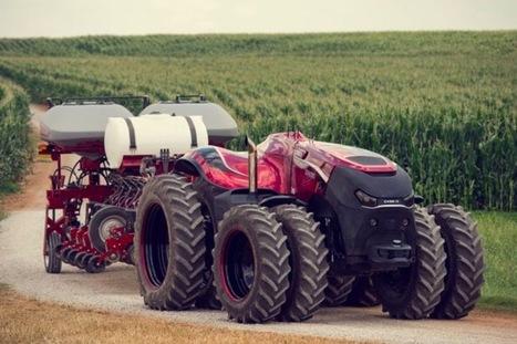 Agriculture : voici le tracteur autonome ! | Une nouvelle civilisation de Robots | Scoop.it