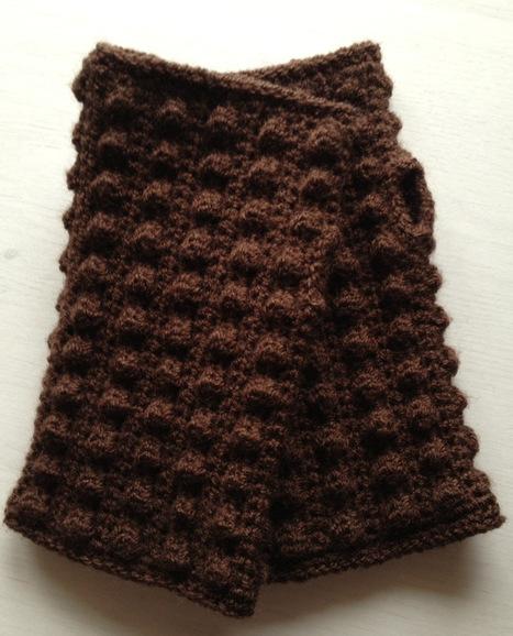 Simply Crochet bobble mitts | The Little Room of Rachell | Crochet | Scoop.it