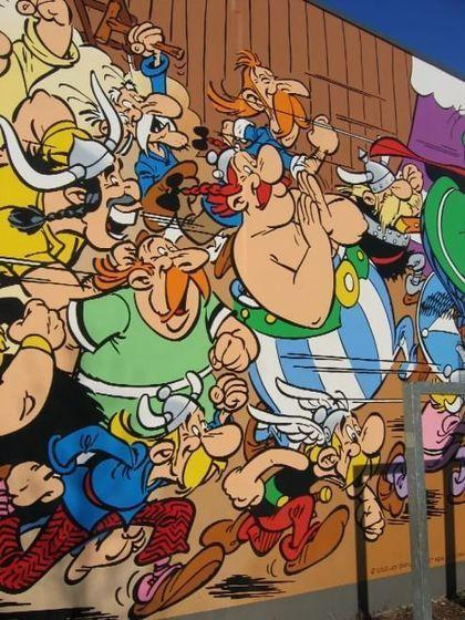 Percorso Comic Book a Bruxelles: i fumetti invadono strade ed edifici | NOTIZIE DAL MONDO DELLA TRADUZIONE | Scoop.it