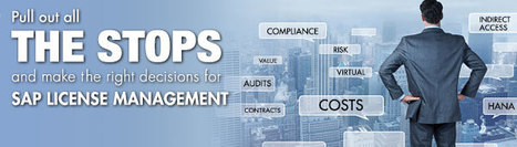 Pull Out All the Stops and Make the Right Decisions for SAP License Management Webinar | Software License Optimization and Software Asset Management | Scoop.it
