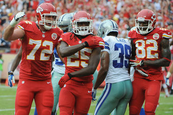 Chiefs injury report: Jamaal Charles practicing, Eric Fisher is not | Sports Journalism 585 FFL | Scoop.it