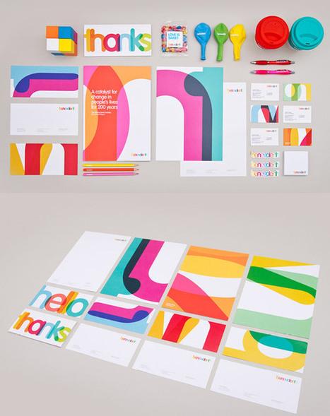 15 projets autour des identités graphiques et du branding | Identité visuelle | Scoop.it