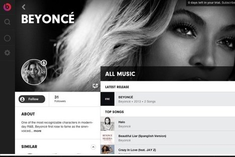 A first look at the Beats Music website, with plenty of leaked screenshots | The Emulator | Scoop.it