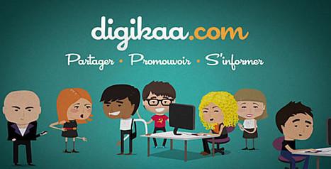 Digikaa, le réseau social des professionnels du web | Best of des Médias Sociaux | Infodoc, Veille et e-reputation | Scoop.it