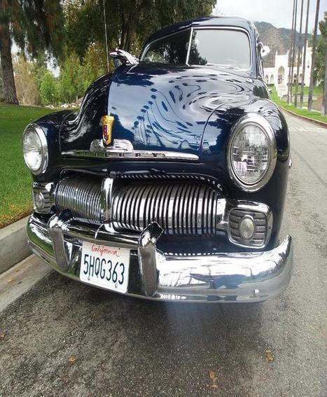 1950 blue Mercury Coupe on Sale in Albuquerque, NM | Online Auto Sale | Scoop.it