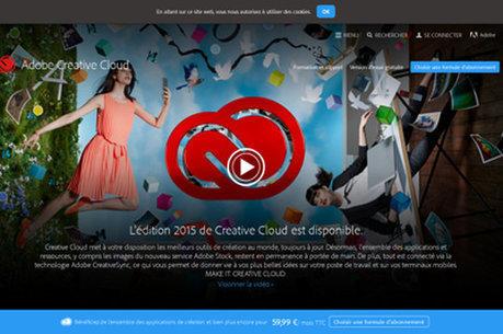 Creative Cloud 2015 : de nouveaux services graphiques 100% cloud - JDN | video | Scoop.it
