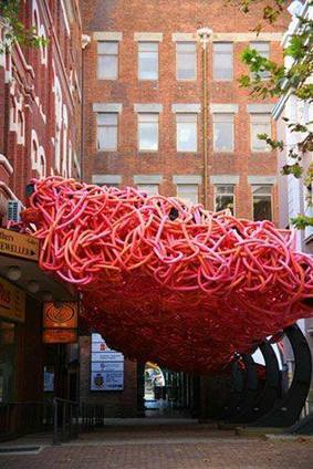 Off my noodle by Dani Marti | Art Installations, Sculpture, Contemporary Art | Scoop.it