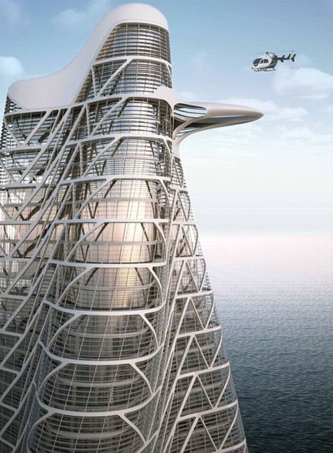 10 most stunning and sustainable spiraling towers | Rendons visibles l'architecture et les architectes | Scoop.it
