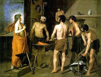 Un día... una obra: Velázquez: La fragua de Vulcano | Javier & Patricia | Scoop.it