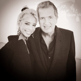 Fashionweek Paris: Mario Testino poses with supermodel Vanessa Modely | SUPERMODEL VANESSA MODELY FANS ! | Scoop.it