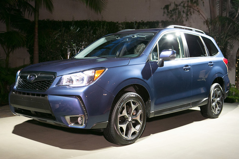 First Look Of 2014 Subaru Forester | Auto Guide India | Scoop.it