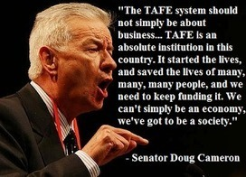 Politicians Supporting TAFE: Doug Cameron | Let's keep the NSW Coalition government accountable on the Northern Tablelands. | Scoop.it