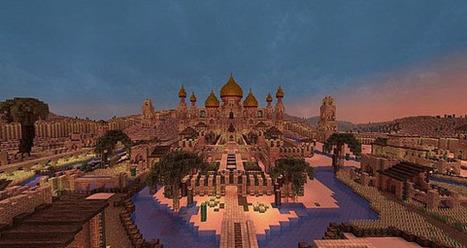 Desert City of Alkazara Map for Minecraft - Minecraft Builders | minecraft | Scoop.it