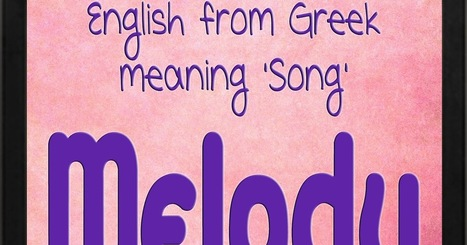 The Art of Naming: Melody   Baby Names   Scoop.it