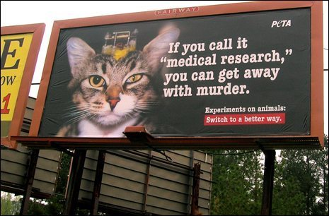 New Ads Show Cruel Reality of Vivisection | CoolAd | Scoop.it