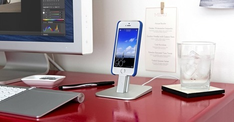 5 Minimalist Stands for Your iPhone 5S | Macwidgets..some mac news clips | Scoop.it