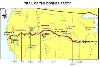 The Tragic Story of the Donner Party | westward exansion | Scoop.it