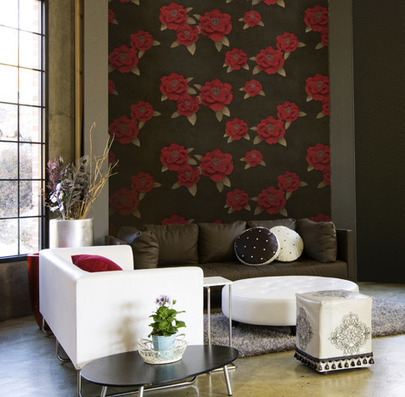 How to introduce pattern into a room - Silk Interiors Wallpaper | Wallpaper | Scoop.it