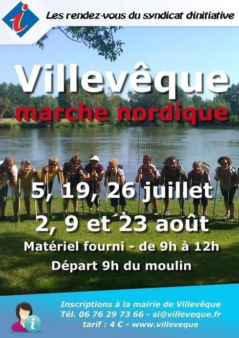 Marches nordiques - Villevêque | Villevêque, l'art de vivre au naturel | Scoop.it