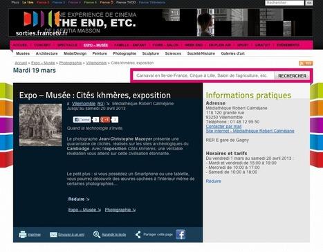 Article sur l'exposition en Réalité Augmentée sur le site Francetv.fr ... | Usage de la Réalité Augmentée | Scoop.it