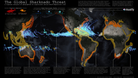 No, but seriously. If sharknadoes were real, where would they strike? | Masego's GIS Corner | Scoop.it