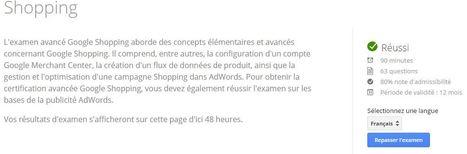 La certification Google Shopping est disponible en France ! | Veille SEO - Référencement web - Sémantique | Scoop.it