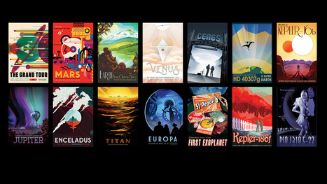 Exotic Cosmic Locales Available as Space Tourism Posters | Oh, you pretty things! | Scoop.it