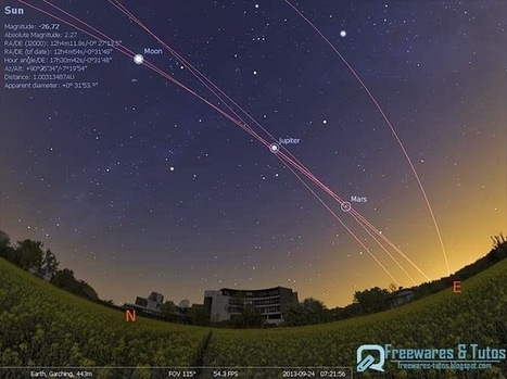 Stellarium : un logiciel d'astronomie gratuit | Outils 2.0 | Scoop.it