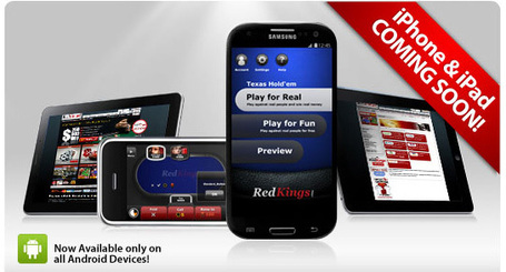 Ongame powers Android poker for RedKings, CasinoCityTimes | Poker & eGaming News | Scoop.it