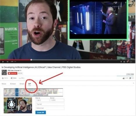 Ya podemos crear GIF animados en YouTube,te enseñamos cómo hacerlo | Linguagem Virtual | Scoop.it