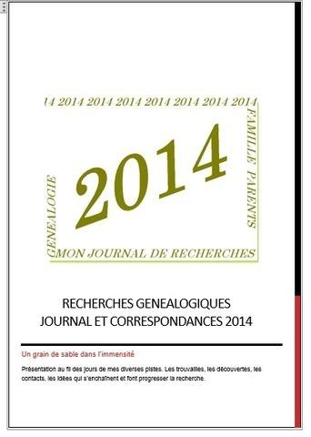 A toutes branches: mon journal de recherches généalogiques (suite) | GenealoNet | Scoop.it