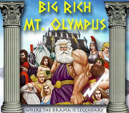Big Rich Mt. Olympus: Legendary Drama! | The Daring Librarian | librariansonthefly | Scoop.it