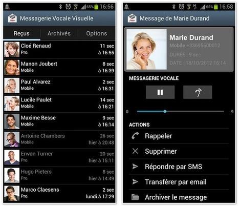 Mise à jour de la « Messagerie vocale visuelle » de Free Mobile ... - Univers Freebox | Richard Dubois Freebox Addict | Scoop.it